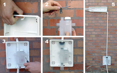 Scarico acqua climatizzatore