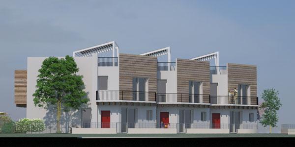 Case in paglia sostenibilit in edilizia ad altissime for Prospetti di villette