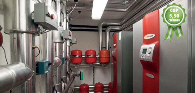Geohouse impianti geotermici chiavi in mano 3 progetti for Impianto di riscaldamento con pompa di calore