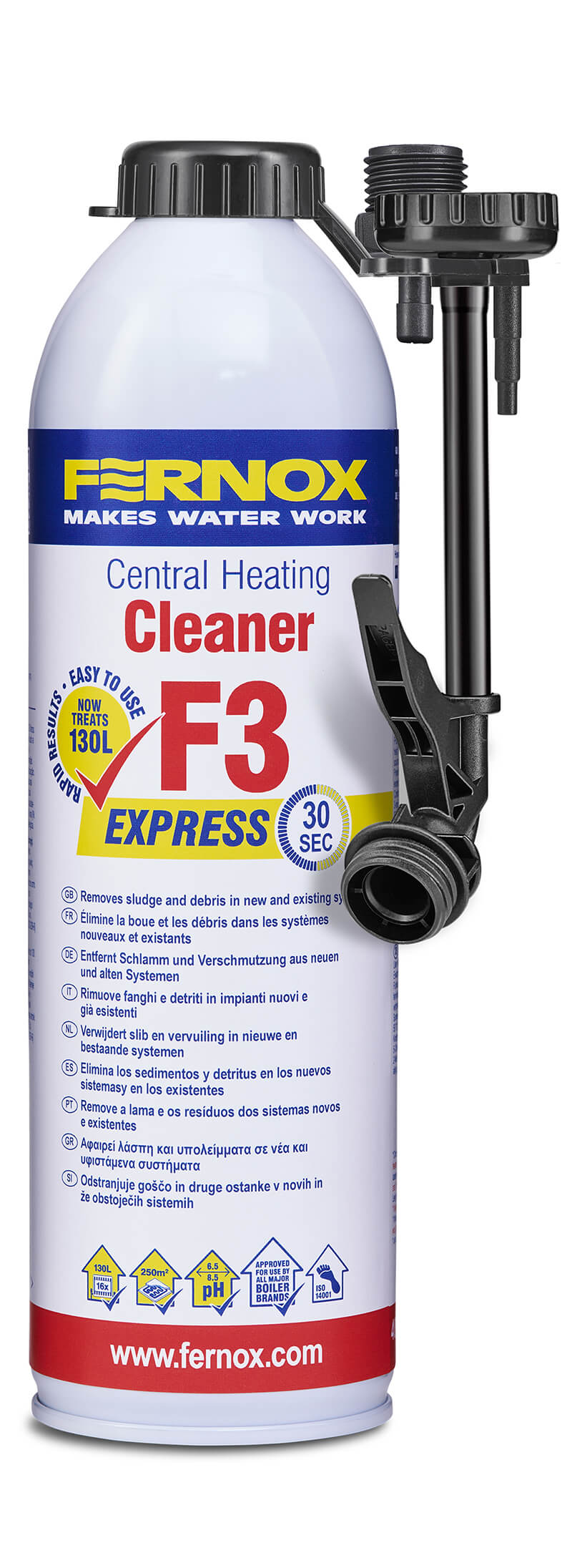 Pulizia efficace degli impianti termoidraulici: Cleaner F3 Express