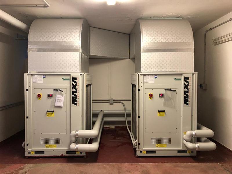 Sistema di climatizzazione Maxa