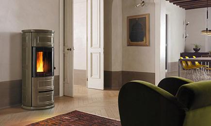 calore uniforme e canalizzabile per tutta la casa grazie alle stufe a pellet piazzetta. Black Bedroom Furniture Sets. Home Design Ideas