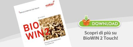 I vantaggi quotidiani derivanti dall'uso di una caldaia a pellet di ultima generazione come BioWIN 2 Touch di Windhager